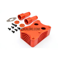 KM HPI Baja 5B 5T SS-Alloy Rev Box (Orange)