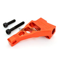 KM HPI Baja 5B 5T SS-Alloy Engine Mount - Orange