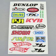 Dunlop / KYB / SHOWA AQ Dispersible Thin Film Color Decal