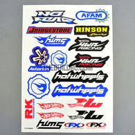BRIDGESTONE / HOTWHEELS MOTORSPORT AQ Dispersible Thin Film Color Decal