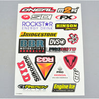BRIDGESTONE / ROCKSTAR ENERGY DRINK AQ Dispersible Thin Film Color Decal