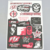 FACTORY EFFEX RED AQ Dispersible Thin Film Color Decal