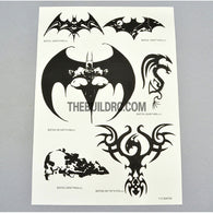 Bat AQ Dispersible Thin Film Black & White Decal