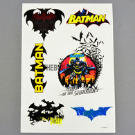 Batman AQ Dispersible Thin Film Color Decal