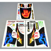 CHEVROLET x Palm In Fire x TRAXXAS x MICHELIN AQ Dispersible Thin Film Color Decal
