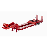 1/14 Tractor Truck CNC Machined Aluminum Engineering Trailer - Red