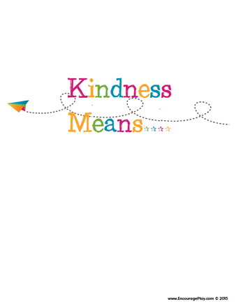 Kindness Wall Printable