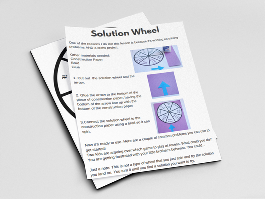 Solution Wheel Printable