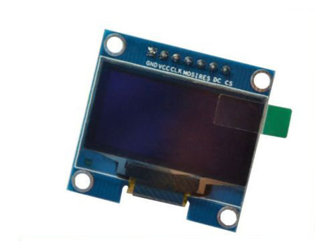 "White 0.96"" I2C IIC SPI Serial 128X64 OLED LCD LED Display Module Compatible With Arduino by Atomic Market"