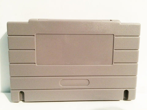 Grey Cartridge Case Shell for SNES Nintendo Games