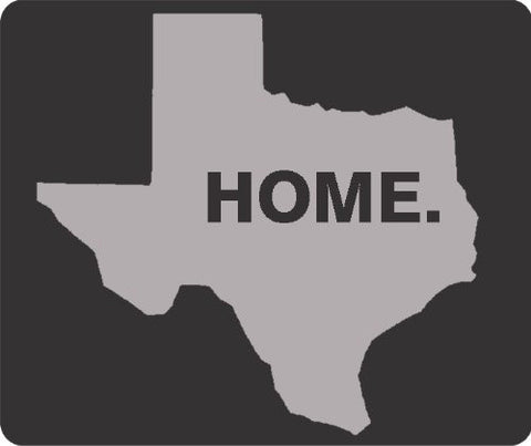 Grey Texas Home Thick Mouse Pad