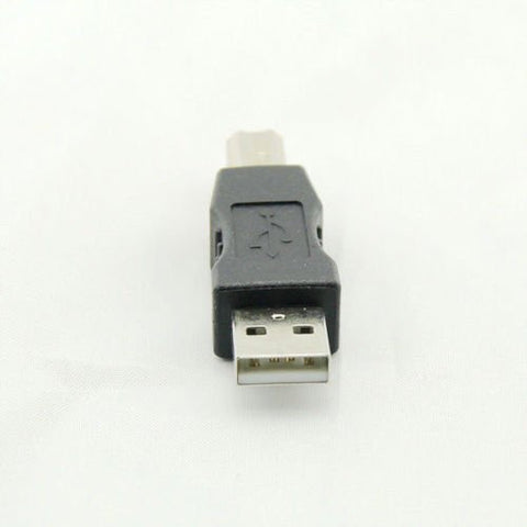 USB 2.0 A Male to Printer Scanner B Male Converter Adapter by Atomic Market