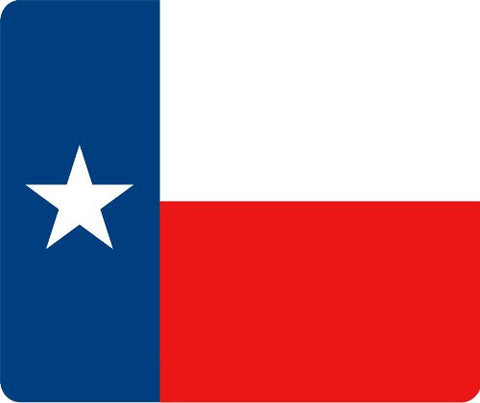 Texas State Flag Thick Mouse Pad