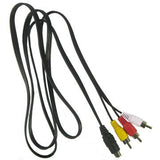 S-Video To 3 RCA Male 5 Feet Cable by Atomic Market