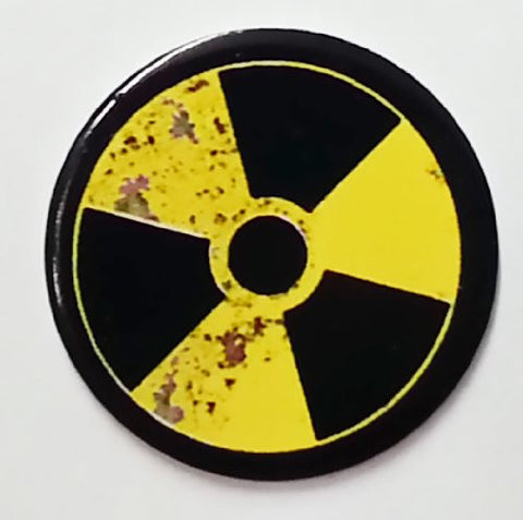 Toxic Symbol Golf Ball Marker By Atomic Market