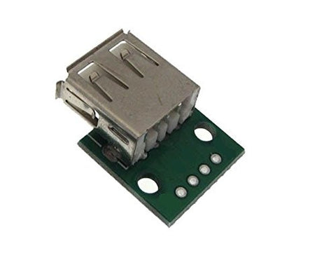 USB Type A Female Receptacle Breakout board by Atomic Market
