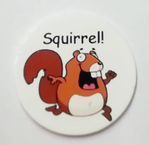 Squirrel! Golf Ball Marker By Atomic Market