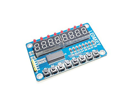 8-Bit LED 8-Bit Digital Tube 8-Bit Key TM1638 Module by Atomic Market