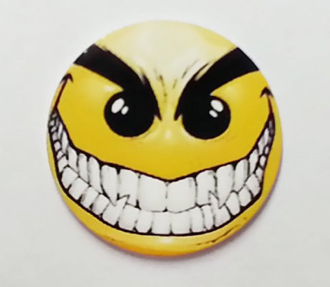 Evil Smiley Golf Ball Marker By Atomic Market