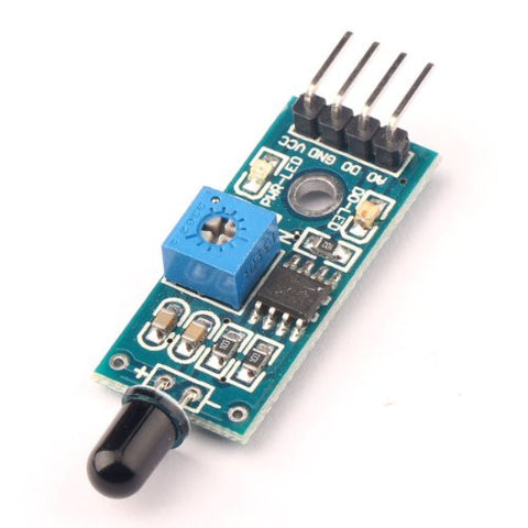 IR Flame Sensor Module Detector Smartsense For Temperature Detecting  Compatible With Arduino by Atomic Market