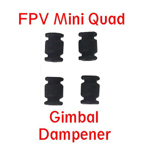 Mini FPV Quadcopter Shock Absorption Damping Ball for Gimbal Camera Mount 4 Pack by Atomic Market