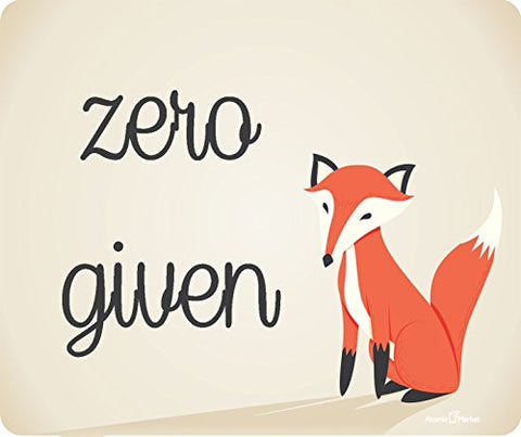Zero Fox Given Mousepad by Atomic Market