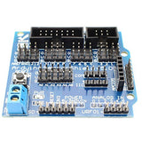 Digital Analog Module V5 Sensor Shield Servo Motor for Arduino UNO MEGA Duemilanove by Atomic Market