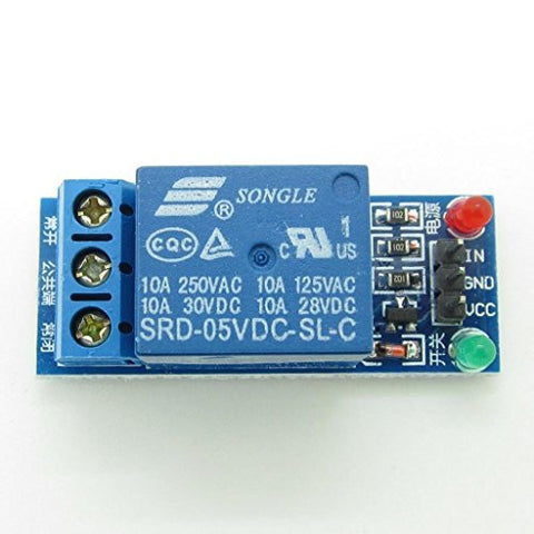 1 Channel 5V Relay Module Low level for SCM Household Appliance Control Compatible With Arduino by Atomic Market