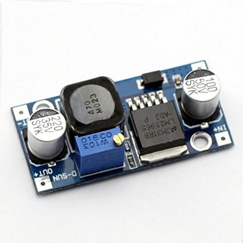 Ultra-small LM2596 Power Supply Module DC / DC BUCK 3A adjustable buck Module Regulator Ultra LM2596S Compatible With Arduino by Atomic Market