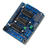 Motor Drive Shield L293D Compatible With Arduino Uno Duemilanove Mega AVR Atmel by Atomic Market