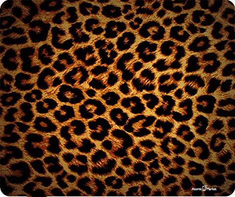 Cheeta Print Thick Mousepad by Atomic Market
