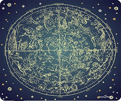 Astrological Map Chart Thick Mousepad by Atomic Market