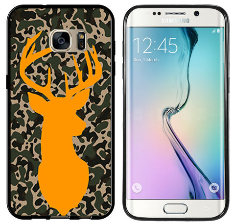 Camo Deer Shilouette Orange