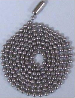 Stainless Steel #3 Ball Chain 30 Inch