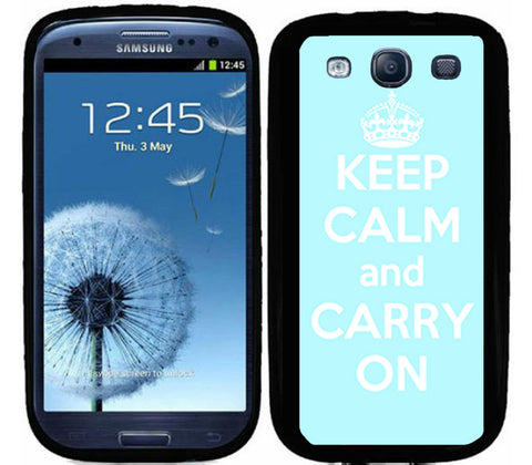 Baby Blue Keep Calm and Carry On