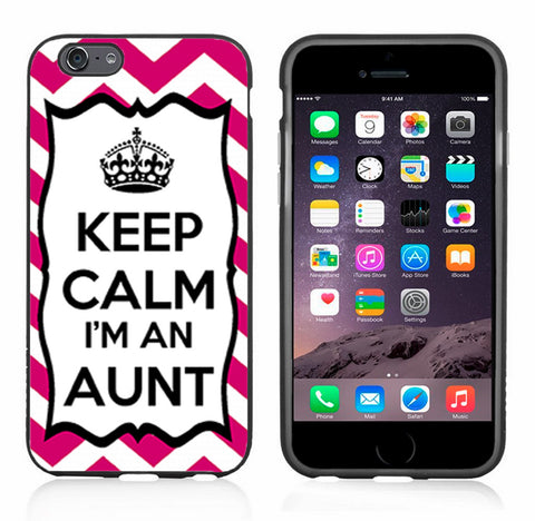 Chevron Pink Keep Calm Im An Aunt