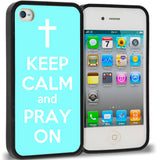 Baby Blue Keep Calm and Pray On