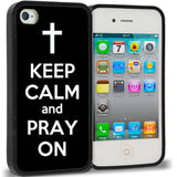 Black Keep Calm and Pray On