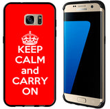 Red Keep Calm and Carry On