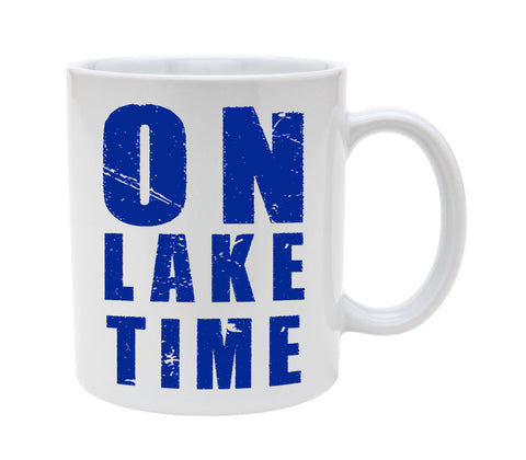 Ceramic On Lake Time 11oz Coffee Mug Cup