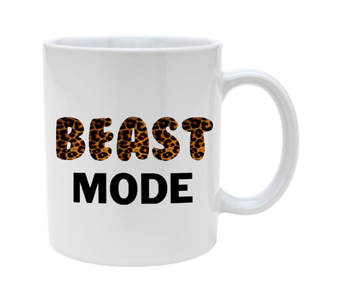 Beast Mode 11oz Coffee Mug Cup