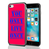 YOLO You Only Live Once Red