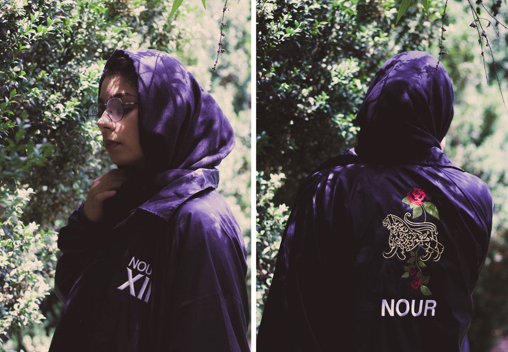 lion of allah coach jacket by nour