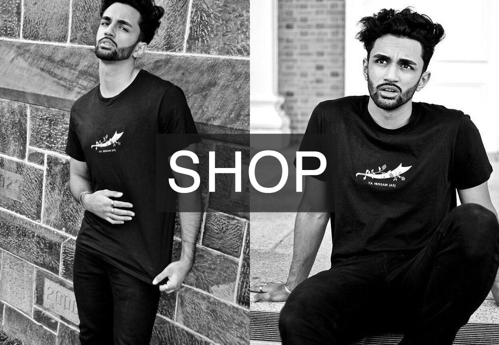 shop nour clothing imam hussain tee