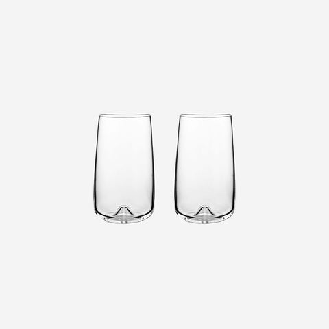 SIMPLE FORM. - Normann Copenhagen - Long Drink Glasses Set - Drinking Glasses
