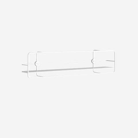 Coupe Horizontal Shelf White