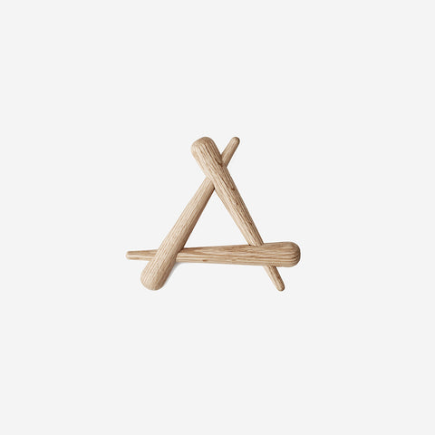 SIMPLE FORM.-Normann Copenhagen Timber Trivet Trivet