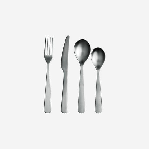 SIMPLE FORM.-Normann Copenhagen Cutlery Set 16 pieces Cutlery
