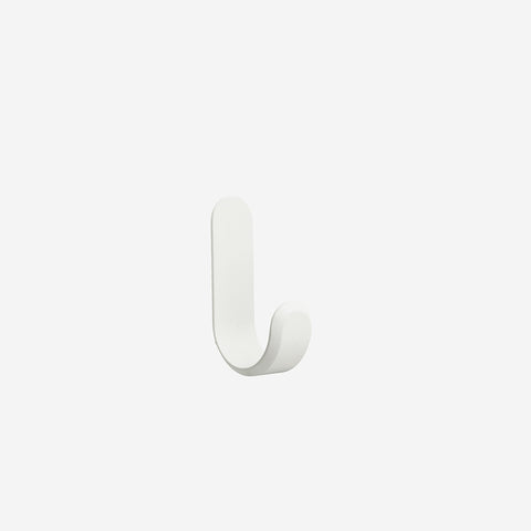 SIMPLE FORM. - Normann Copenhagen - Curve Hook White - Hook