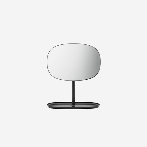 SIMPLE FORM.-Normann Copenhagen Flip Mirror Black Mirror